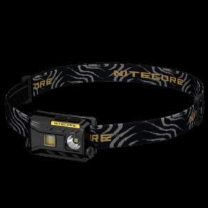 Светодиодный налобный фонарь Nitecore NU25 Черный