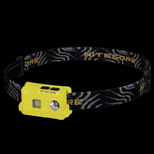 Ультралегкий светодиодный налобный фонарь Nitecore NU25 Желтый