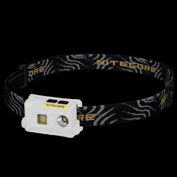 Ультралегкий светодиодный налобный фонарь Nitecore NU25 Белый
