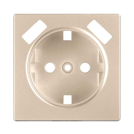 Накладка для USB розетки WL11-USB-CP шампань