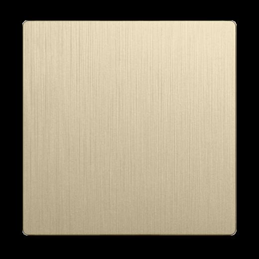 Клавиша для выключателя перекрестного WL10-SW-1G-C-CP шампань рифленый