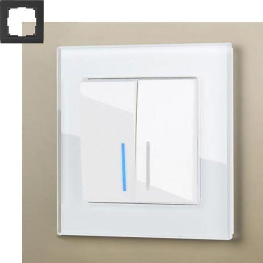 Рамка на 1 пост Werkel WL01-Frame-01 Белый