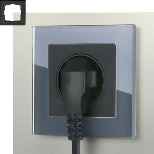 Рамка на 1 пост Werkel WL01-Frame-01 Серый