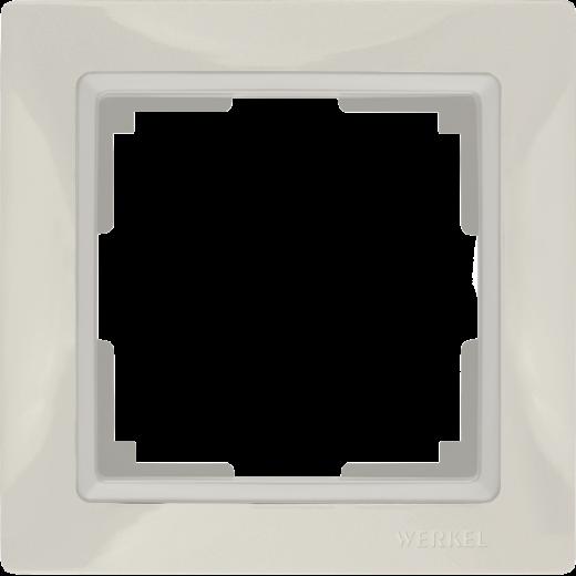 Рамка на 1 пост Werkel WL03-Frame-01 Basic слоновая кость