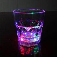 Светящийся стакан для виски восьмиугольный Bubble Rocks (1)