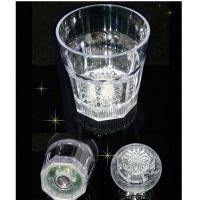 Светящийся стакан для виски восьмиугольный Bubble Rocks (3)