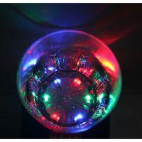 Светящийся стакан для виски восьмиугольный Bubble Rocks (4)