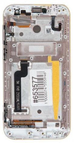 LCD (Дисплей) Asus ZX551ML ZenFone Zoom (в сборе с тачскрином) (в раме) (white) Оригинал