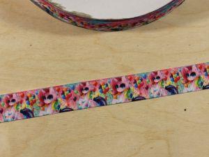 Лента репсовая с рисунком, ширина 22 мм, длина 10 м, Арт. ЛР5847