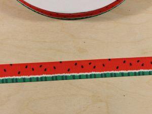 Лента репсовая с рисунком, ширина 22 мм, длина 10 м, Арт. ЛР5859
