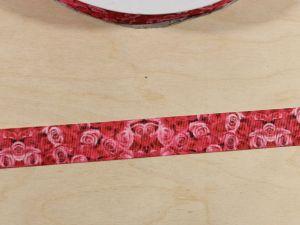 Лента репсовая с рисунком, ширина 22 мм, длина 10 м, Арт. ЛР5865
