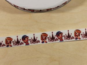 `Лента репсовая с рисунком, ширина 22 мм, Арт. Р-ЛР5821