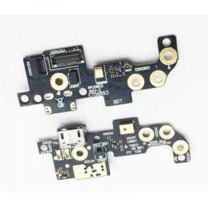 FLC (Шлейф) Asus ZX551ML ZenFone Zoom (на микрофон и системный разъём) Оригинал