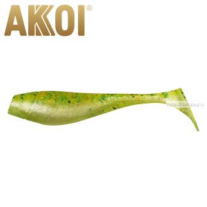Мягкая приманка Akkoi Original Puffy 4,5'' 115 мм / 11 гр / упаковка 4 шт / цвет: OR02