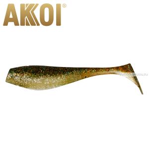 Мягкая приманка Akkoi Original Puffy 4,5'' 115 мм / 11 гр / упаковка 4 шт / цвет: OR04