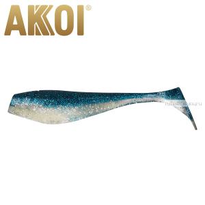Мягкая приманка Akkoi Original Puffy 4,5'' 115 мм / 11 гр / упаковка 4 шт / цвет: OR13