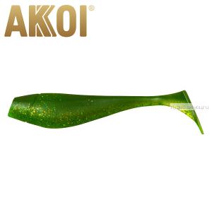 Мягкая приманка Akkoi Original Puffy 4,5'' 115 мм / 11 гр / упаковка 4 шт / цвет: OR15