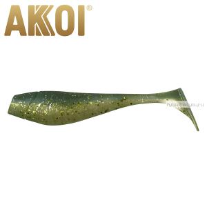 Мягкая приманка Akkoi Original Puffy 4,5'' 115 мм / 11 гр / упаковка 4 шт / цвет: OR16