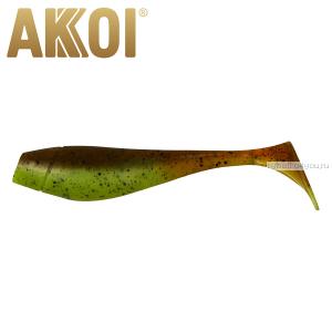 Мягкая приманка Akkoi Original Puffy 4,5'' 115 мм / 11 гр / упаковка 4 шт / цвет: OR17