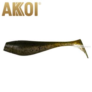 Мягкая приманка Akkoi Original Puffy 4,5'' 115 мм / 11 гр / упаковка 4 шт / цвет: OR18
