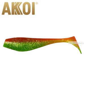 Мягкая приманка Akkoi Original Puffy 4,5'' 115 мм / 11 гр / упаковка 4 шт / цвет: OR19