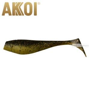 Мягкая приманка Akkoi Original Puffy 4,5'' 115 мм / 11 гр / упаковка 4 шт / цвет: OR22