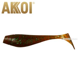 Мягкая приманка Akkoi Original Puffy 4,5'' 115 мм / 11 гр / упаковка 4 шт / цвет: OR23