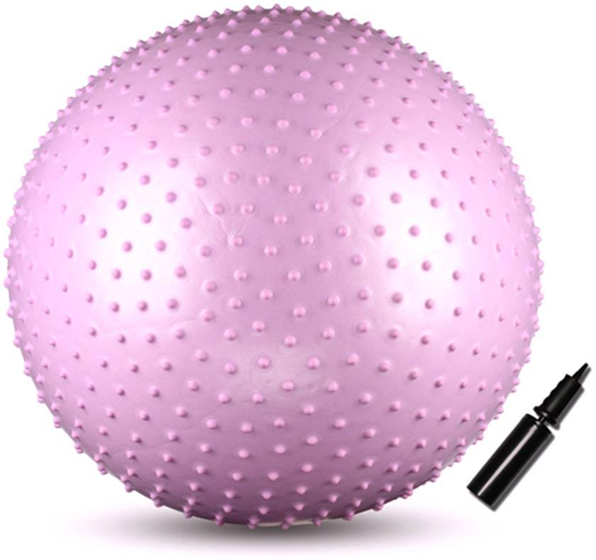 Мяч гимнастический (фитбол) массажный INDIGO IN094 с насосом 65см