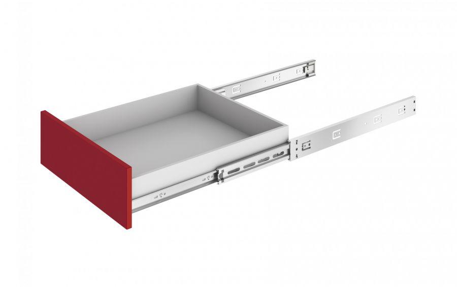 Шариковые направляющие «Push-to-Open» 450 мм DB4513Zn/500