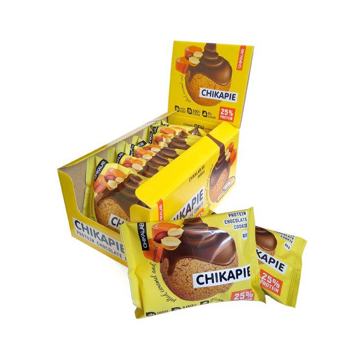 CHIKAPIE глазированное протеиновое печенье с начинкой