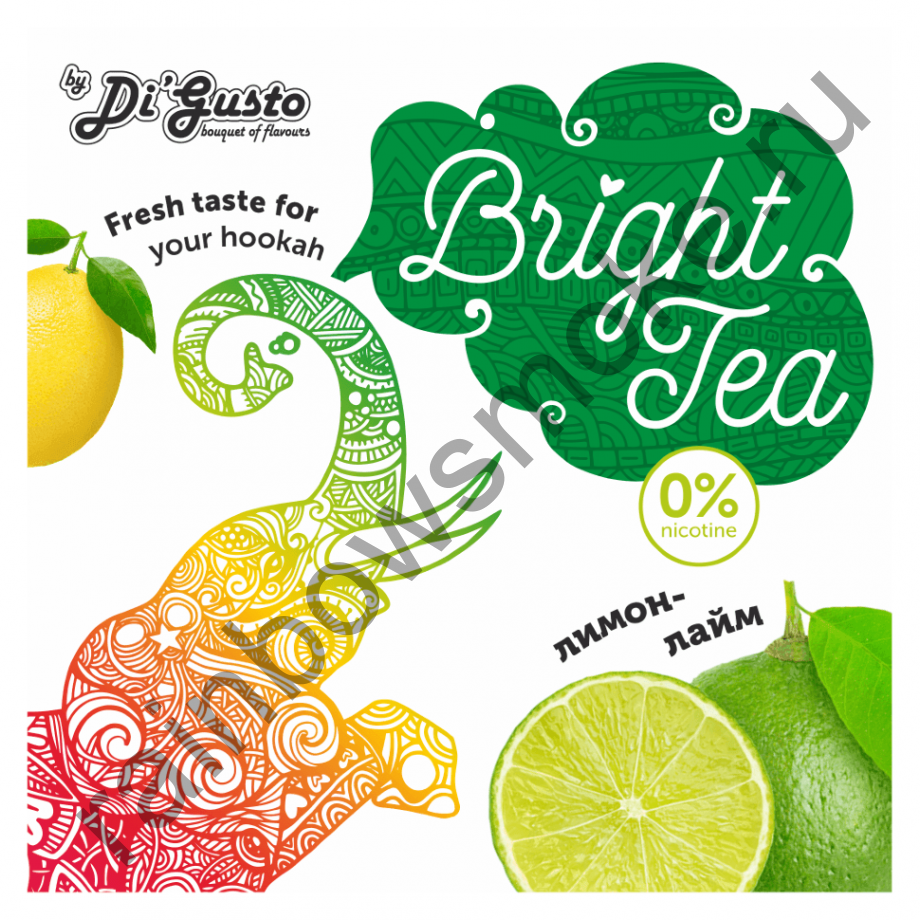 Смесь Bright Tea 50 гр - Лимон Лайм