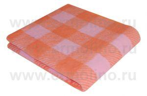 Оранжевый Байковое жаккард 100х140 100% х/б арт. 57-8ЕТЖ Ермолино одеяло