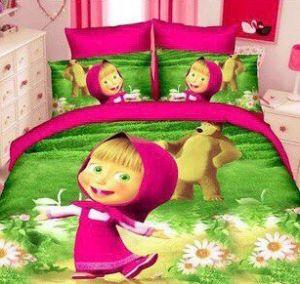 Детское постельное белье 1,5 сатин ПД029