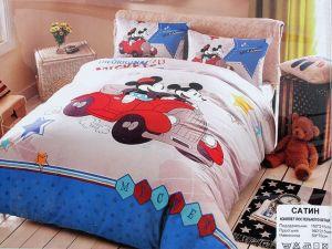 Детское постельное белье 1,5 сатин ПД024