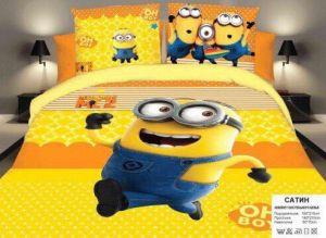 Детское постельное белье 1,5 сатин ПД017
