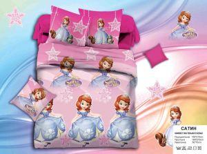 Детское постельное белье 1,5 сатин ПД016