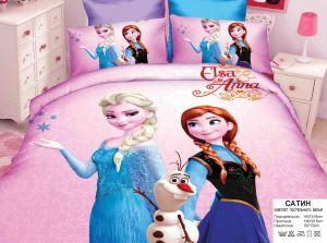 Детское постельное белье 1,5 сатин ПД015