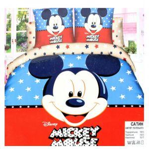 Детское постельное белье 1,5 сатин ПД011