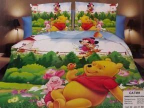 Детское постельное белье 1,5 сатин ПД006