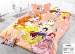 Детское постельное белье 1,5 сатин ПД004