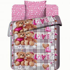 Детское постельное белье «Василек» бязь ВВ015