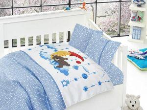 Комплект постельного белья First Choice Bamboo детское 09-SLEEPER MAVI