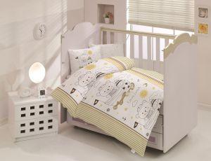 """Постельное белье """"Altinbasak"""" для новорожденных TEDDY Коричневый"""