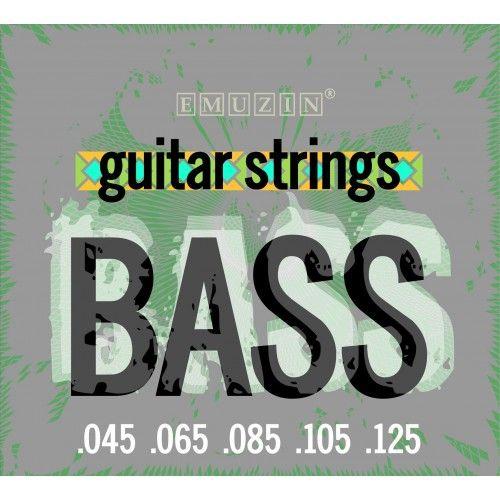 EMUZIN 5SB45-125 (045-125) Струны для бас-гитары (5 стр.)