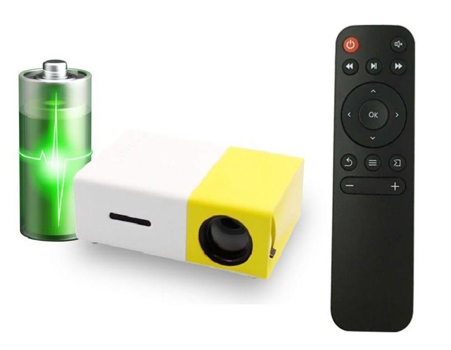Проектор Unic YG-300A со встроенным аккумулятором
