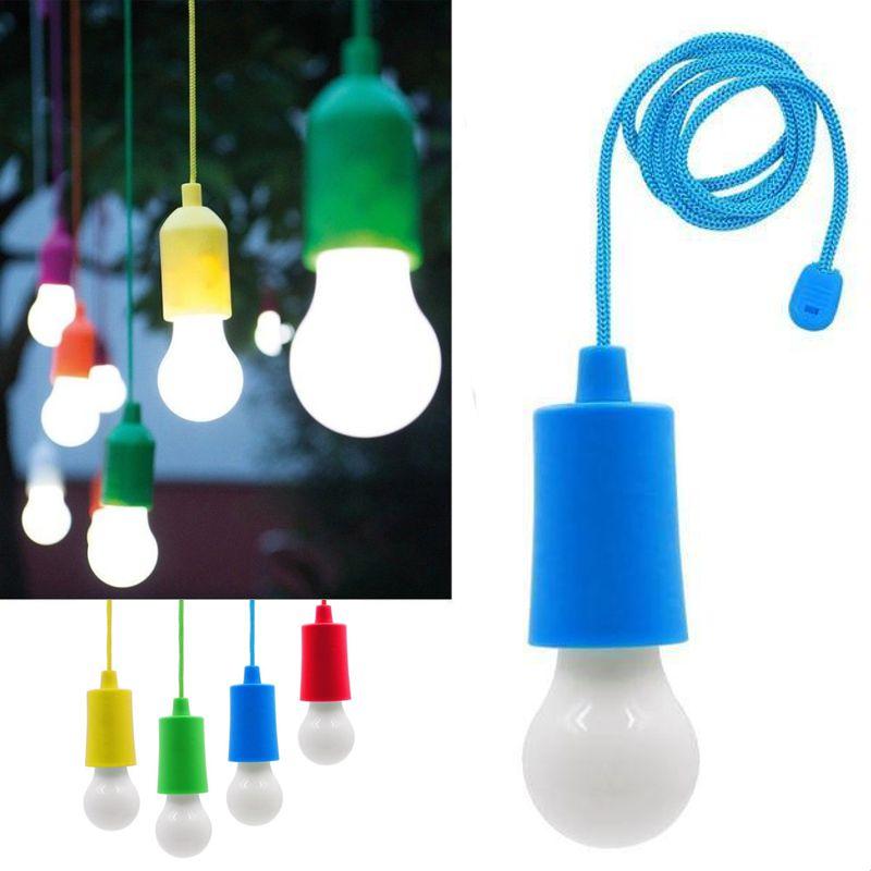 Светодиодная Лампочка На Шнурке Led Stretch Switch Light, Цвет Синий