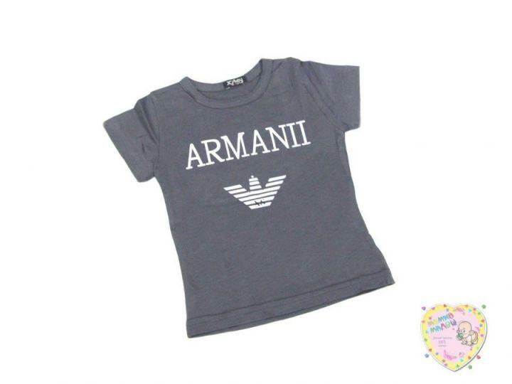 Футболка для мальчика Armani Турция (0938-5 серый)