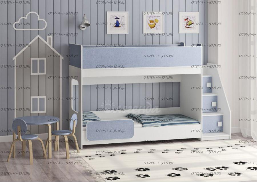Кровать двухъярусная Легенда 43.4.1