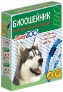 Доктор ЗОО БИО Ошейник для собак (синий), 65см