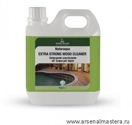 Интенсивный очиститель для древесины на водной основе 5 л Borma Extra Strong Wood Cleaner 0092